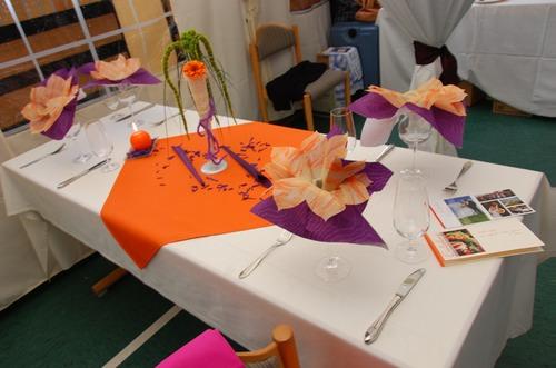 Tischdeko lila orange ausmalbilder for Tischdeko bestellen